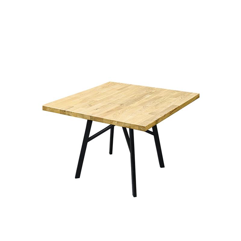 Стол обеденный квадратный, лак