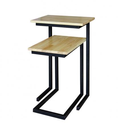 Набор приставных столиков, лак