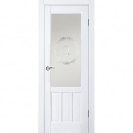 Браво ДГО 1.17 Белый жемчуг, 2000x900