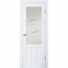 Браво ДГО 1.18 Белый жемчуг, 2000x700