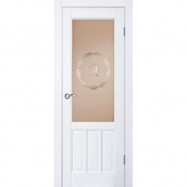 Браво ДГО 2.17 Белый жемчуг, 2000x900