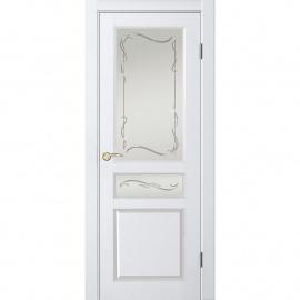 Джулия 1 ДГО 1.4 Белый жемчуг, 2000x600