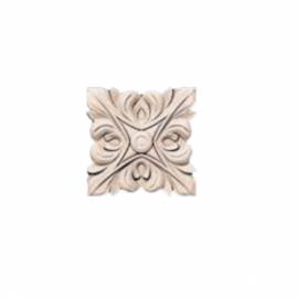 Розетка на подложке № 9 из полиуретана в цвет полотна